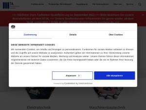 Screenshot von technikerschule-augsburg.de